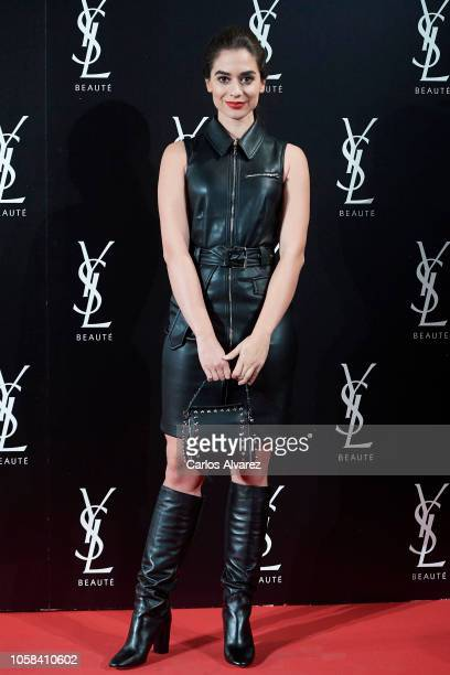 Actress Alejandra Meco attends 'YSL Beaute THE SLIM Rouge PurCouture' party at the Santona Palace on November 6 2018 in Madrid Spain