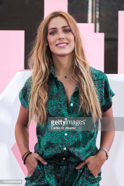 Actress Alejandra Onieva attends 'Donna Karan Stories' new Fragrance party at Museo del Ferrocarril on September 18 2018 in Madrid Spain