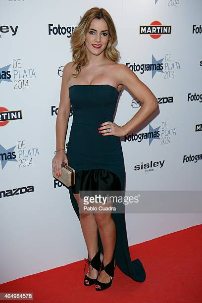 Actress Alejandra Onieva attends 'Fotogramas Awards 2014' at Joy Eslava theater on March 2 2015 in Madrid Spain
