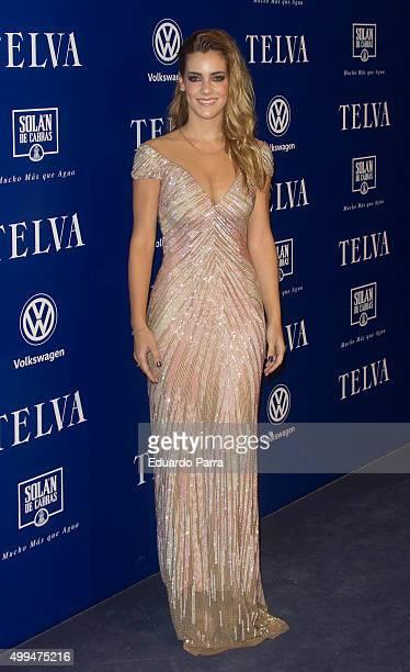 Actress Alejandra Onieva attends 'T de Moda' awards by Telva Magazine photocall at Royal theatre on December 1 2015 in Madrid Spain