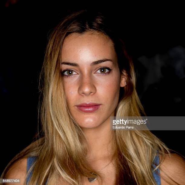 Actress Alejandra Onieva attends the Duyos catwalk during the Mercedes Benz Fashion Week Spring / Summer 2017 at IFEMA on September 17 2017 in Madrid...