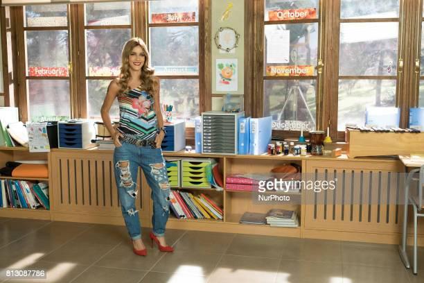Actress Alejandra Onieva attends the 'Ella es tu padre' new series photocall at Diner studios on July 11 2017 in Navalcarnero Spain