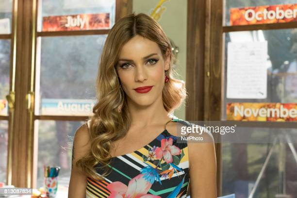 Actress Alejandra Onieva attends the 'Ella es tu padre' new series photocall at Diner studios on July 11 2017 in Navalcarnero Spain