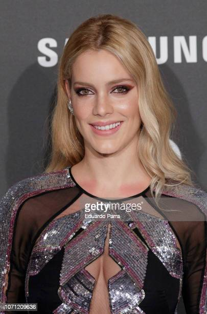Actress Alejandra Onieva attends the 'GQ Men of the Year' awards photocall at Palace hotel on November 22 2018 in Madrid Spain