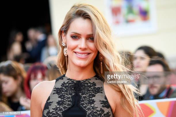 Actress Alejandra Onieva attends the Malaga Film Festival 2019 closing day gala at Cervantes Theater on March 23 2019 in Malaga Spain