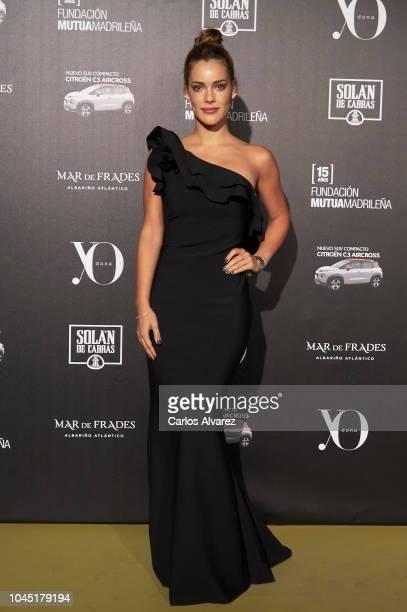 Actress Alejandra Onieva attends the 'YO DONA' International Awards 2018 at Palacio de Linares on October 3 2018 in Madrid Spain
