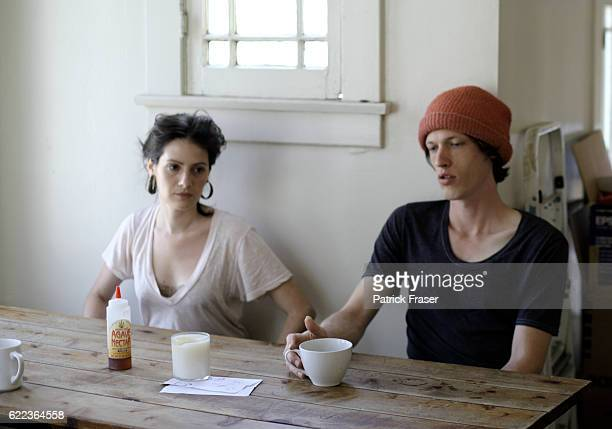 Actress Aleksa Palladino and her husband Devon Church creates music as the band Exitmusic