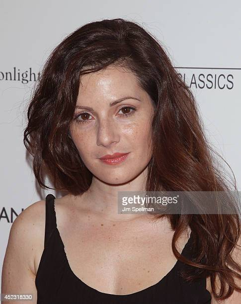Actress Aleksa Palladino attends 'Magic In The Moonlight' premiere at Paris Theater on July 17 2014 in New York City