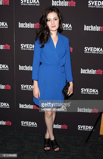 Actress Aleksa Palladino attends the 'Bachelorette' New York Premiere at Sunshine Landmark on September 4 2012 in New York City