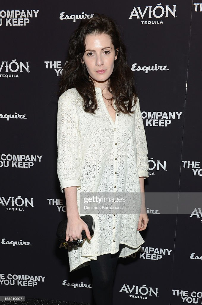 Actress Aleksa Palladino attends 'The Company You Keep' New York Premiere at MOMA on April 1, 2013 in New York City.