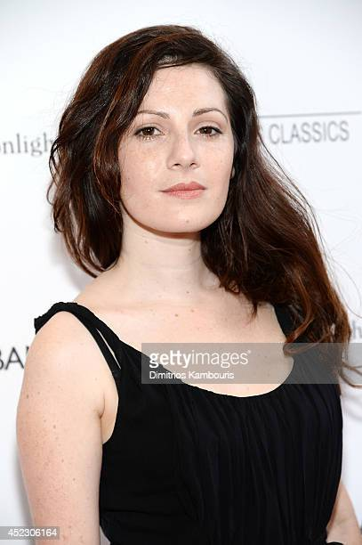 Actress Aleksa Palladino attends the 'Magic In The Moonlight' premiere at the Paris Theater on July 17 2014 in New York City
