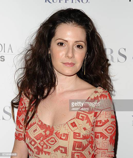 Actress Aleksa Palladino attends the premiere of 'Mothers and Daughters' at The London on April 28 2016 in West Hollywood California