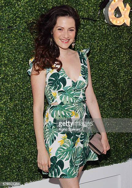 Actress Aleksa Palladino attends the Vanity Fair And GUESS Summer Soiree held at Jimmy At The James Hotel on June 9 2015 in New York City