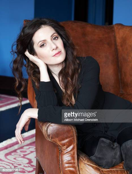 Actress Aleksa Palladino is photographed for Rhapsody Magazine on March 20 2015 in New York City