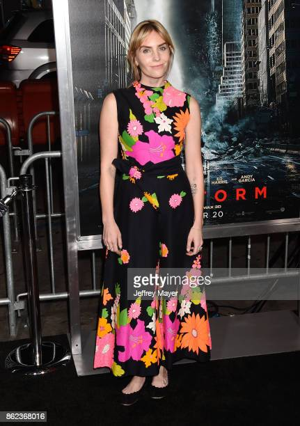 Actress Aleque Reid attends the premiere of Warner Bros Pictures' 'Geostorm' at the TCL Chinese Theatre on October 16 2017 in Hollywood California