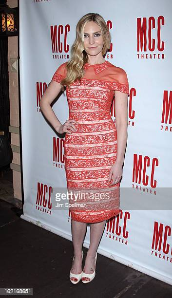 Actress Aleque Reid attends the Really Really Opening Night party at 49 Grove on February 19 2013 in New York City