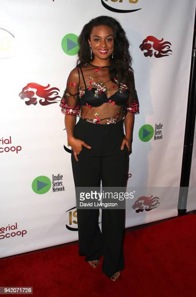 Actress Alesha Renee attends the 9th Annual Indie Series Awards at The Colony Theatre on April 4 2018 in Burbank California