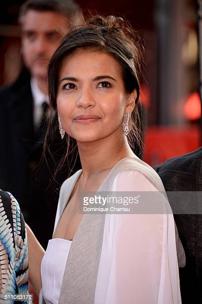 Actress Alessandra De Rossi attends the 'A Lullaby to the Sorrowful Mystery' premiere during the 66th Berlinale International Film Festival Berlin at...