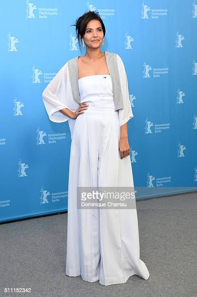 Actress Alessandra De Rossi attends the 'A Lullaby to the Sorrowful Mystery' photo call during the 66th Berlinale International Film Festival Berlin...