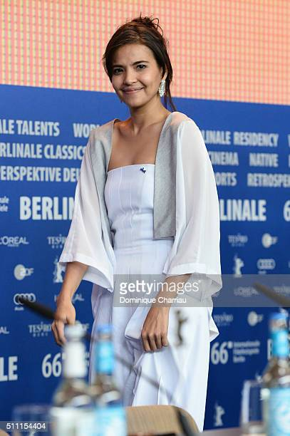 Actress Alessandra De Rossi attends the 'A Lullaby to the Sorrowful Mystery' press conference during the 66th Berlinale International Film Festival...