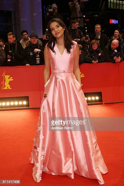 Actress Alessandra De Rossi attends the closing ceremony of the 66th Berlinale International Film Festival on February 20 2016 in Berlin Germany
