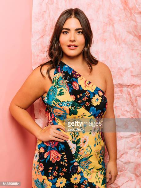 Actress Alessandra Garcia Lorido poses for a portrait during the Daily Front Row's Fashion Media Awards at Four Seasons Hotel New York Downtown on...