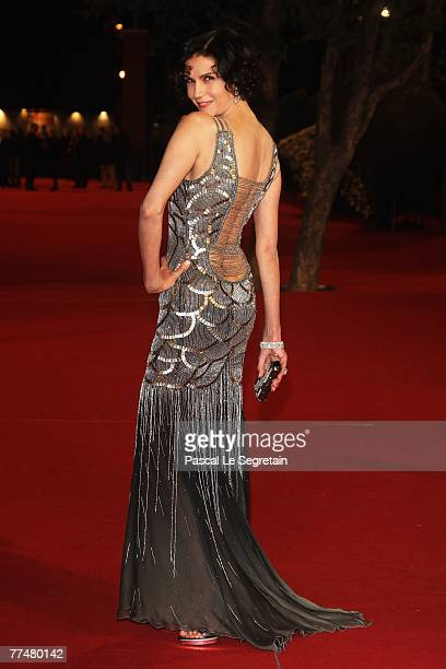 Actress Alessandra Martines attends a premiere for 'Into The Wild' during day 7 of the 2nd Rome Film Festival on October 24, 2007 in Rome, Italy.
