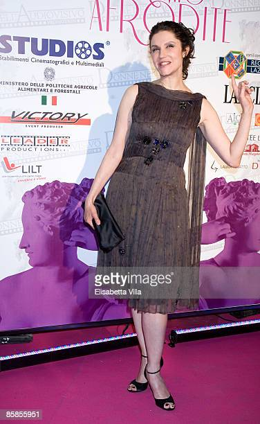 Actress Alessandra Martines attends 'Premio Afrodite' Women In Film And Television International Award at Studios De Paolis on April 7, 2009 in Rome,...
