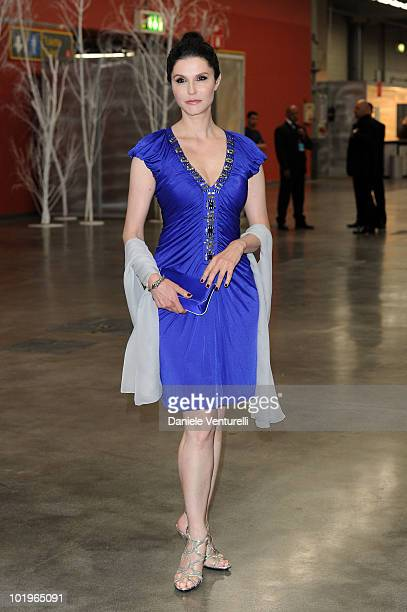 Actress Alessandra Martines attends the 2010 Convivio held at Fiera Milano City on June 10 2010 in Milan Italy