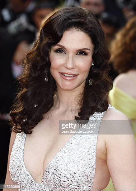 Actress Alessandra Martines attends the 'Inglourious Basterds' Premiere at the Grand Theatre Lumiere during the 62nd Annual Cannes Film Festival on...