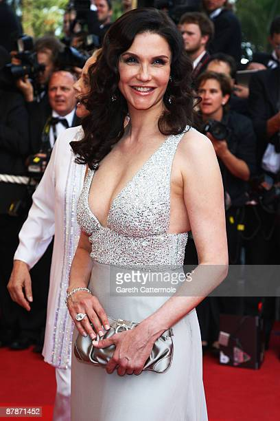 Actress Alessandra Martines attends the Inglourious Basterds Premiere held at the Palais Des Festivals during the 62nd International Cannes Film...