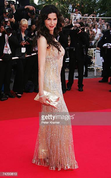 "Actress Alessandra Martines attends the premiere for the film ""Chacun Son Cinema"" at the Palais des Festivals during the 60th International Cannes..."