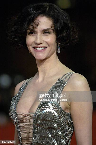 "Actress Alessandra Martines attends the premiere of ""Into the wild"" during the 2007 Rome Film Festival."
