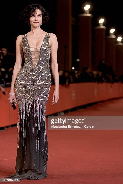Actress Alessandra Martines attends the premiere of Into the wild during the 2007 Rome Film Festival