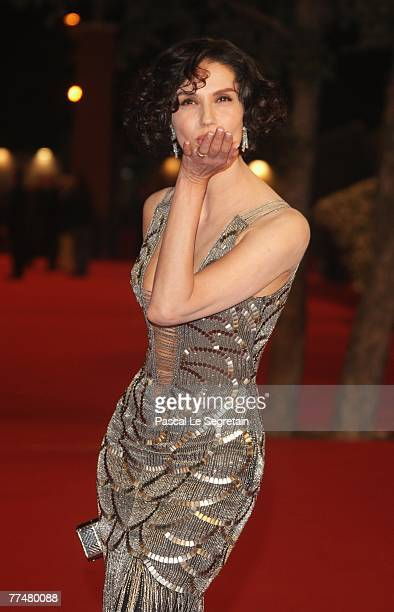 Actress Alessandra Martinez attends a premiere for 'Into The Wild' during day 7 of the 2nd Rome Film Festival on October 24, 2007 in Rome, Italy.