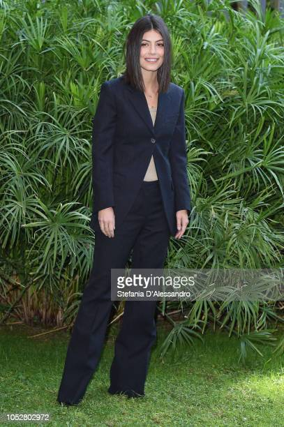 Actress Alessandra Mastronardi attends L'Allieva 2 photocall at RAI Viale Mazzini on October 23 2018 in Rome Italy