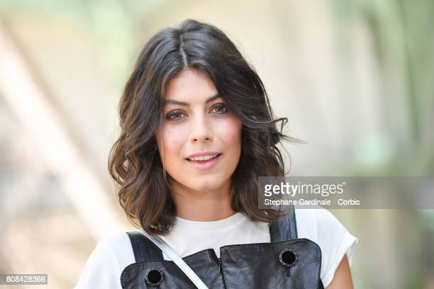 Actress Alessandra Mastronardi attends the Chanel Haute Couture Fall/Winter 20172018 show as part of Haute Couture Paris Fashion Week on July 4 2017...