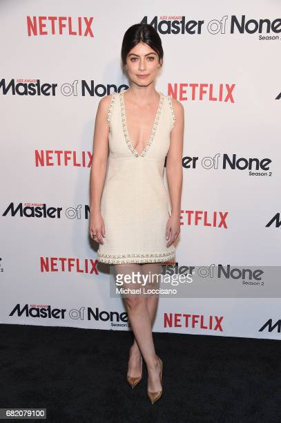 Actress Alessandra Mastronardi attends the Netflix Master Of None S2 Premiere NY Screening 2017 on May 11 2017 in New York City