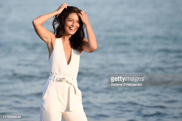 Actress Alessandra Mastronardi attends the photocall of the Patroness of the 76th Venice Film Festival on August 27 2019 in Venice Italy