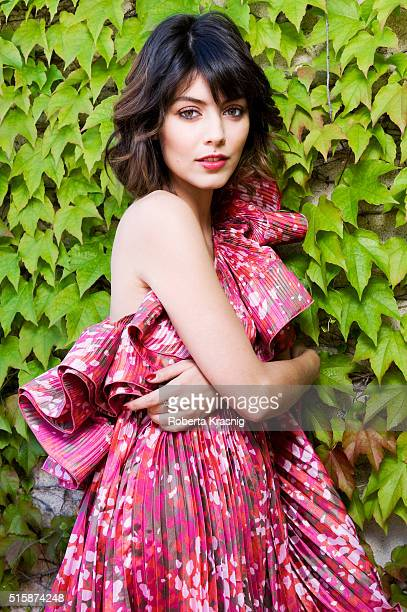 Actress Alessandra Mastronardi is photographed for Self Assignment on September 10 2010 in Rome Italy