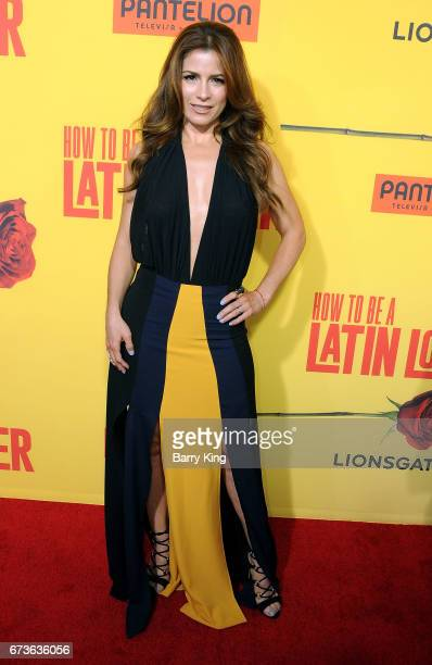 Actress Alessandra Rosaldo attends premiere of Pantelion Films' 'How To Be A Latin Lover' at ArcLight Cinemas Cinerama Dome in Hollywood California