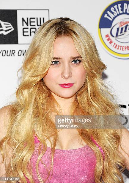 Actress Alessandra Torresani arrives at the 2011 Maxim Hot 100 Party with New Era Miller Lite 2ist and Silver Jeans Co held at Eden on May 11 2011 in...