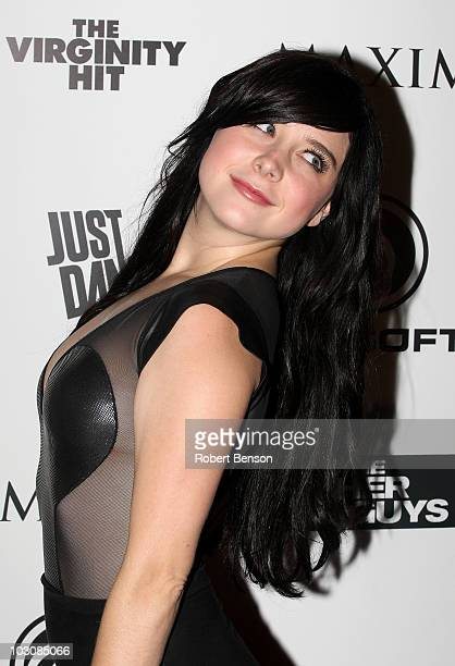 Actress Alessandra Torresani attends Maxim Ubisoft and Sony Pictures celebrate the cast of 'The Other Guys' at ComicCon 2010 held at Hotel Solamar on...