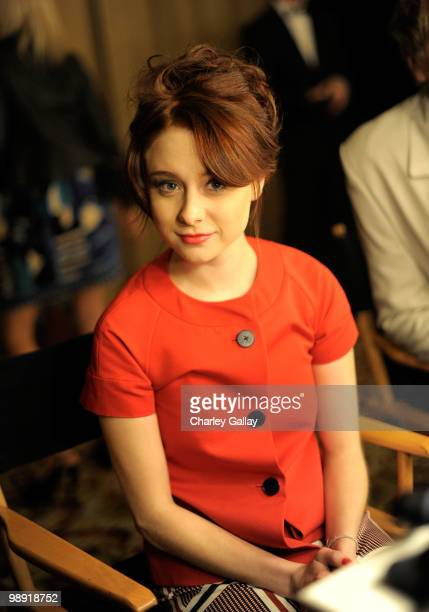Actress Alessandra Torresani attends the 17th Annual Race to Erase MS event cochaired by Nancy Davis and Tommy Hilfiger at the Hyatt Regency Century...