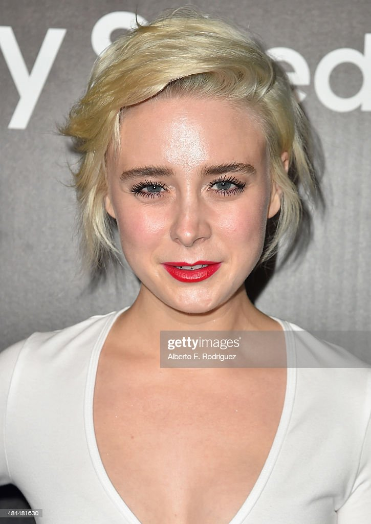 Actress Alessandra Torresani attends the Samsung Galaxy S6 Edge Plus and Note 5 Launch party on August 18, 2015 in West Hollywood, California.
