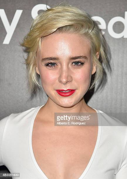 Actress Alessandra Torresani attends the Samsung Galaxy S6 Edge Plus and Note 5 Launch party on August 18 2015 in West Hollywood California