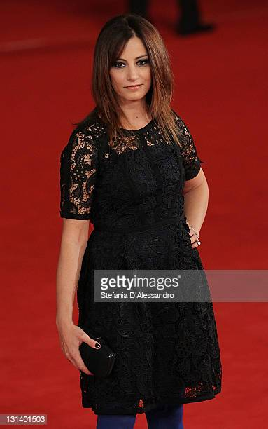 Actress Alessia Barela attends La Kryptonite Nella Borsa Premiere during 6th International Rome Film Festival on November 2 2011 in Rome Italy