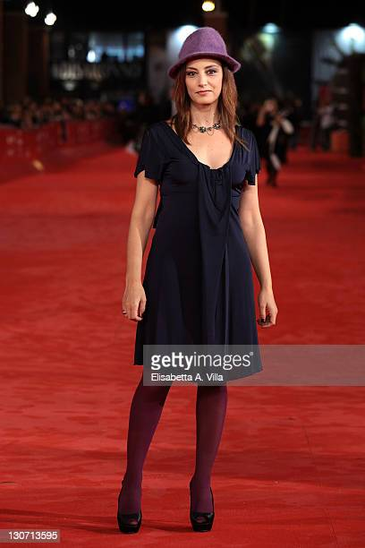 Actress Alessia Barela attends the Il Mio Domani Premiere during the 6th International Rome Film Festival at Auditorium Parco Della Musica on October...