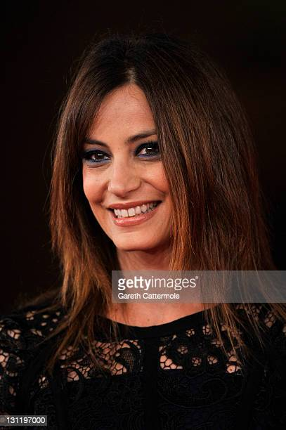 Actress Alessia Barela attends the La Kryptonite Nella Borsa And Dead Man Talking Premiere during the 6th International Rome Film Festival on...