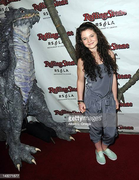 Actress Alex Ann Hopkins arrives for the Wrap Party For SYFY Networks' Monster Man Season 2 held at Rolling Stone Restaurant And Lounge on April 16...